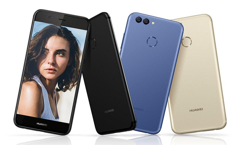 Die drei Farben des Huawei Nova 2