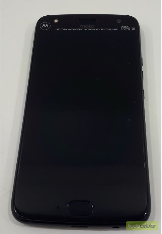Hands-On-Foto des Moto X4