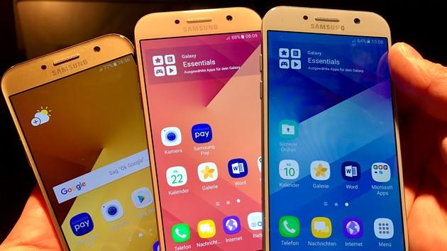 Samsung: Android 7.0 nun auch für Galaxy A5 2017