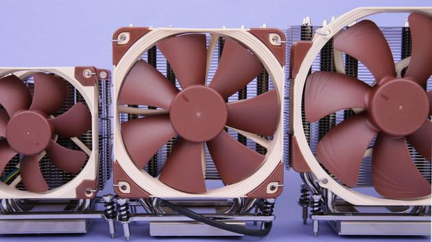 Ryzen-Threadripper-Kühler im Test: Noctua NH-U14S, -U12S und -U9 für Sockel TR4