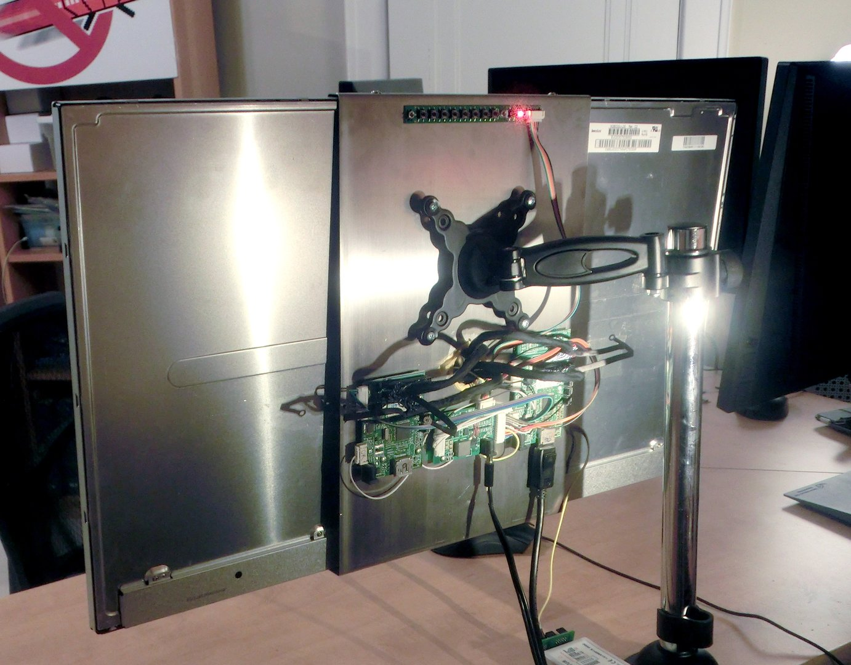 Der Display-Prototyp von Zisworks