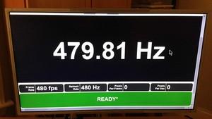 Prototyp: Erster Monitor mit nativen 480Hz