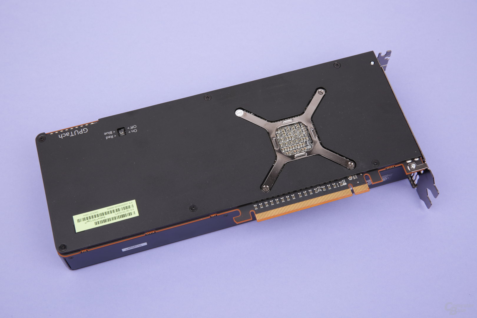 Backplate der Radeon RX Vega