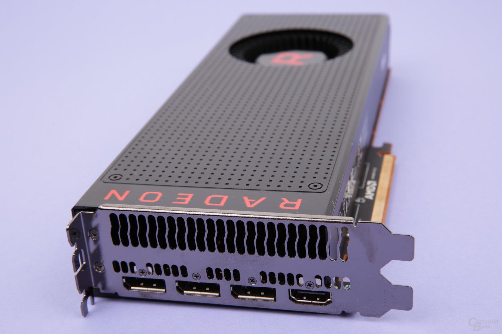 Die Monitoranschlüsse der Radeon RX Vega