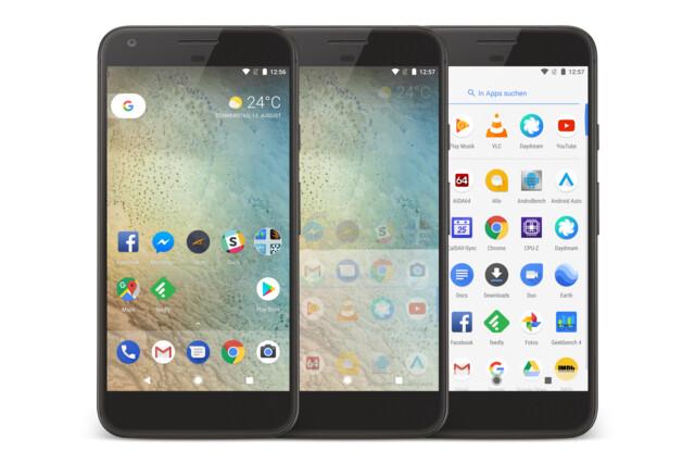 Das Design von Android 8.0 erinnert stark an Android 7.0