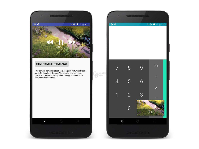 Der Bild-in-Bild-Modus setzt entsprechend angepasste Apps voraus