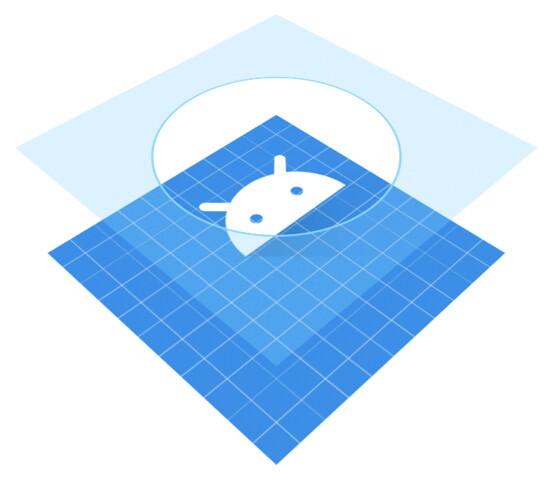 Adaptive App-Icons bestehen aus zwei Layern