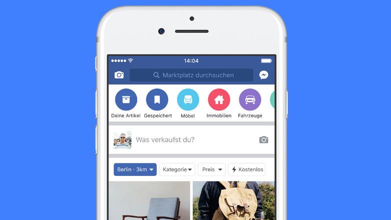 Facebook Marketplace: Kleinanzeigen im sozialen Netzwerk nun in Deutschland