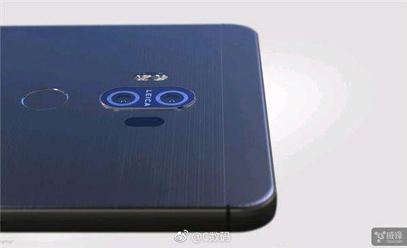 Das soll das Huawei Mate 10 sein