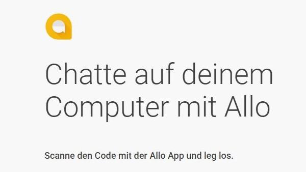 Google Allo: Messenger erhält Webversion für den Computer