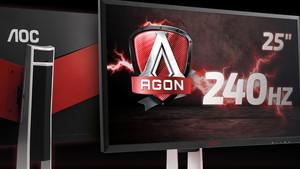In Kürze verfügbar: Gaming-Monitor AOC AG251FG mit 240 Hz und G-Sync