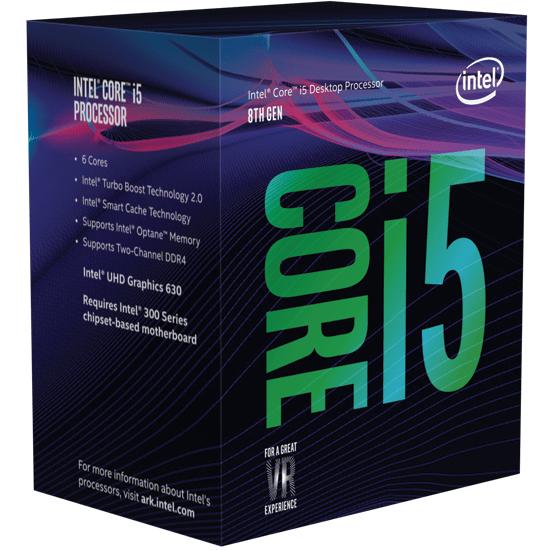 Intel Core i5 mit sechs Kernen