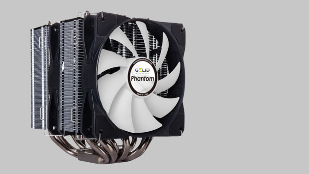 Gelid Solutions Phantom: CPU-Kühler mit gestapelten Heatpipes