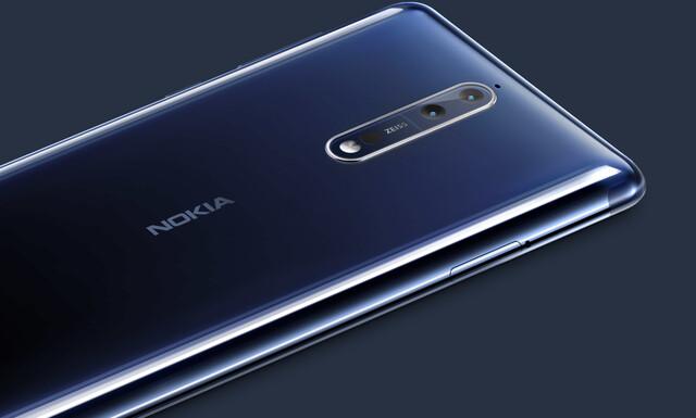 Dual-Kamera des Nokia 8