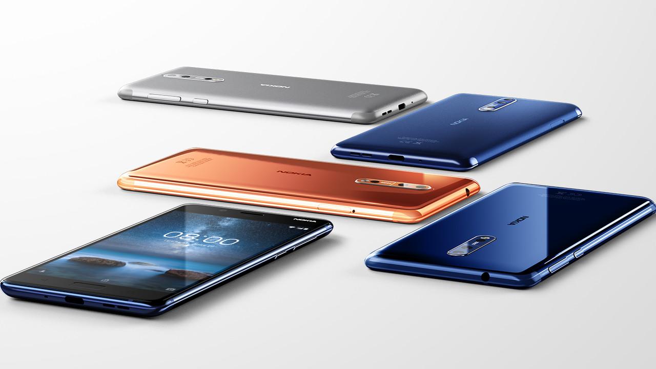 Nokia 8: Snapdragon 835, Dual-Kamera von Zeiss und 5,3 Zoll