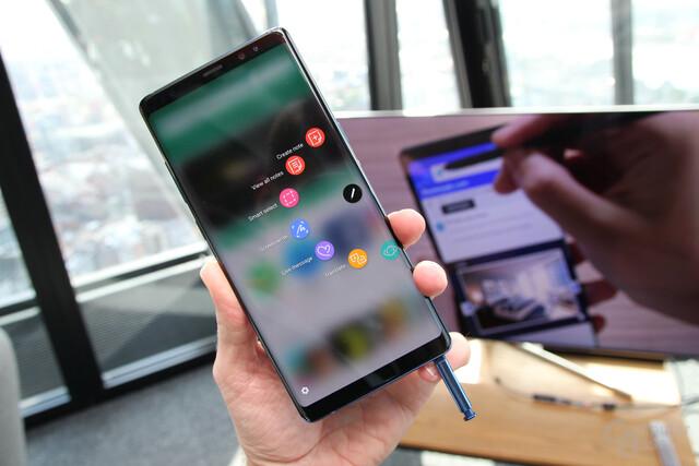 Das Galaxy Note 8 ist speziell für Stylus-Liebhaber