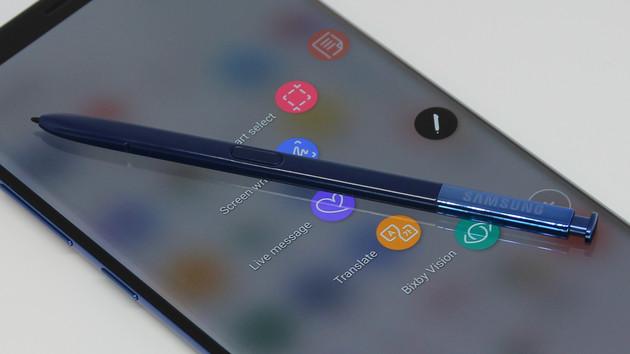 Galaxy Note 8 Hands-On: Samsungs Stift-Smartphone ist ein 1.000-Euro-Hybride