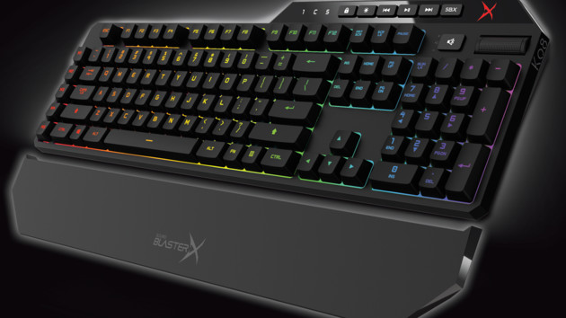 Sound BlasterX Vanguard K08: Creatives Spieletastatur im DE-Layout erhältlich