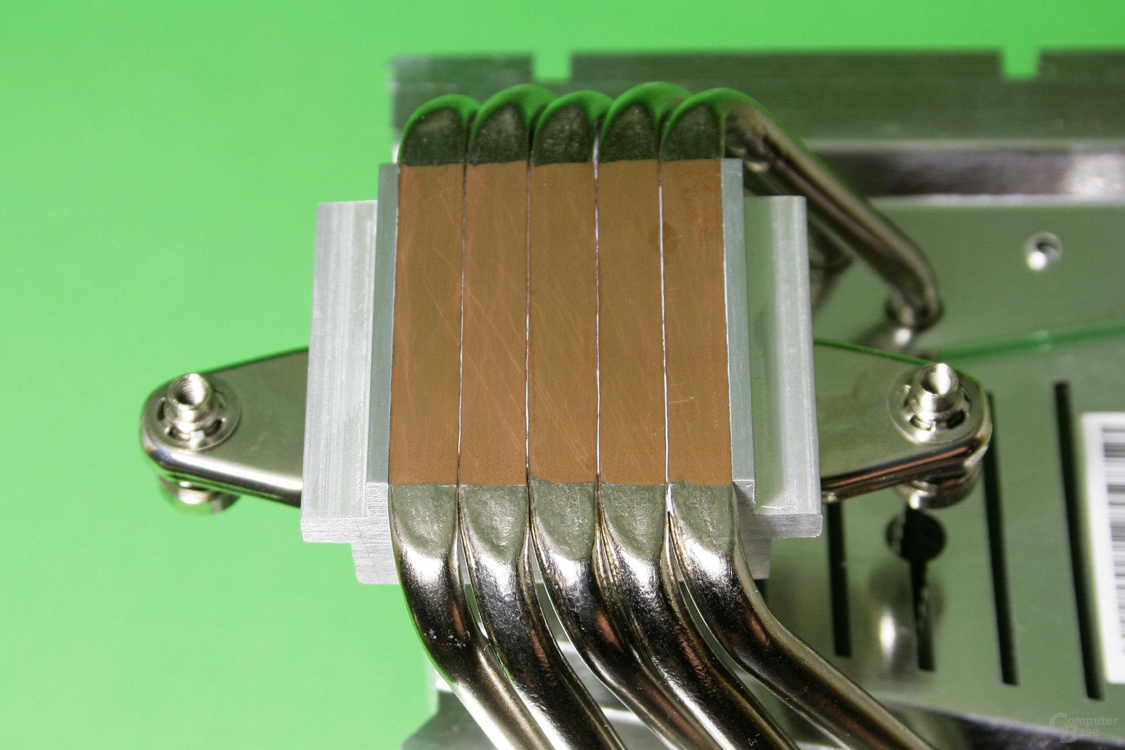 Alpenföhn Brocken 3: CPU-Auflagefläche mit Heatpipe Direct Touch