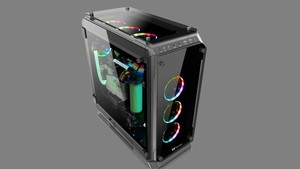 Thermaltake View 71 TG: Ein Midi-Tower als Glas-Vitrine