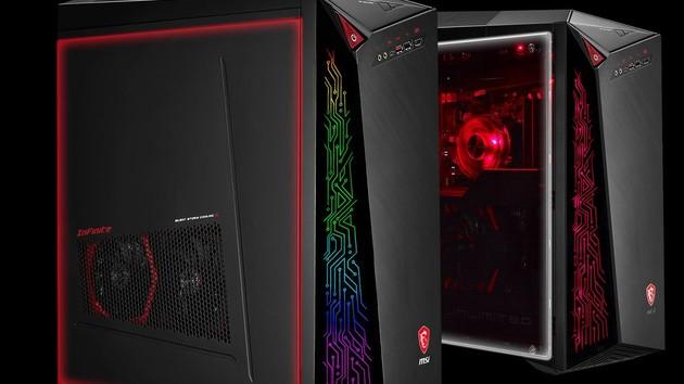 MSI Infinite A: Aufgestellte GPU im Gaming-Desktop für 1.899 Euro