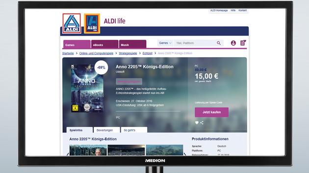 Aldi life Games: Discounter vertreibt nun auch Spiele online
