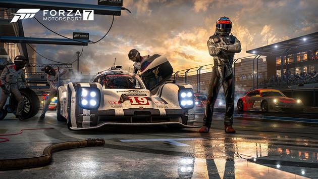 Systemanforderungen: Forza Motorsport 7 rast auf einem i5-750 und GT 740