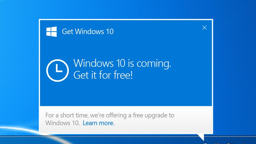 """Windows 10 Update: Unterlassungserklärung wegen """"Zwangsdownloads"""""""
