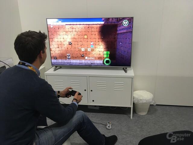 """Super Mario Odyssey auf der Nintendo Switch in """"2D"""" (Gimmick)"""