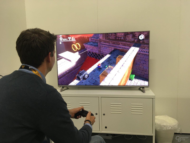 Super Mario Kart auf dem Nintendo SNES Mini in 3D