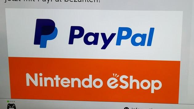 Nintendo Switch: PayPal nun als Zahlungsmethode im eShop