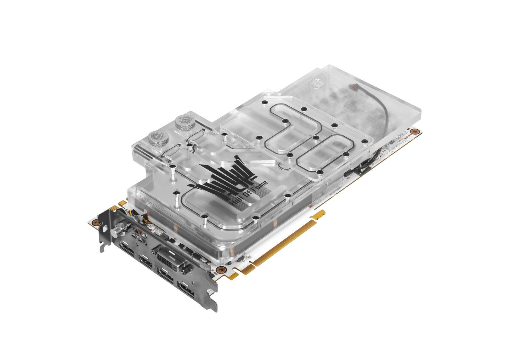 GeForce GTX 1080 Ti Hall of Fame Watercooled