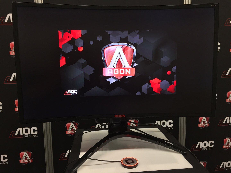 AOC Agon auf der Gamescom