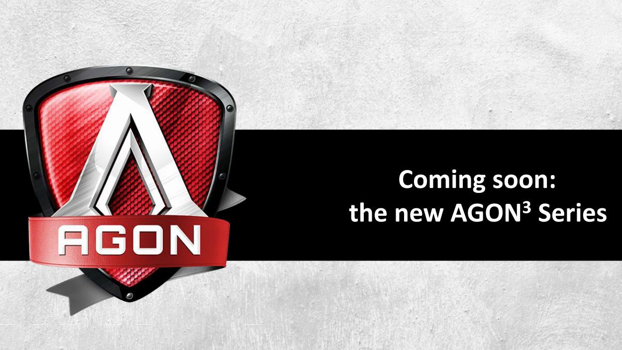 AOC Agon 3: Neue Gaming-Monitore mit G-Sync HDR und FreeSync 2