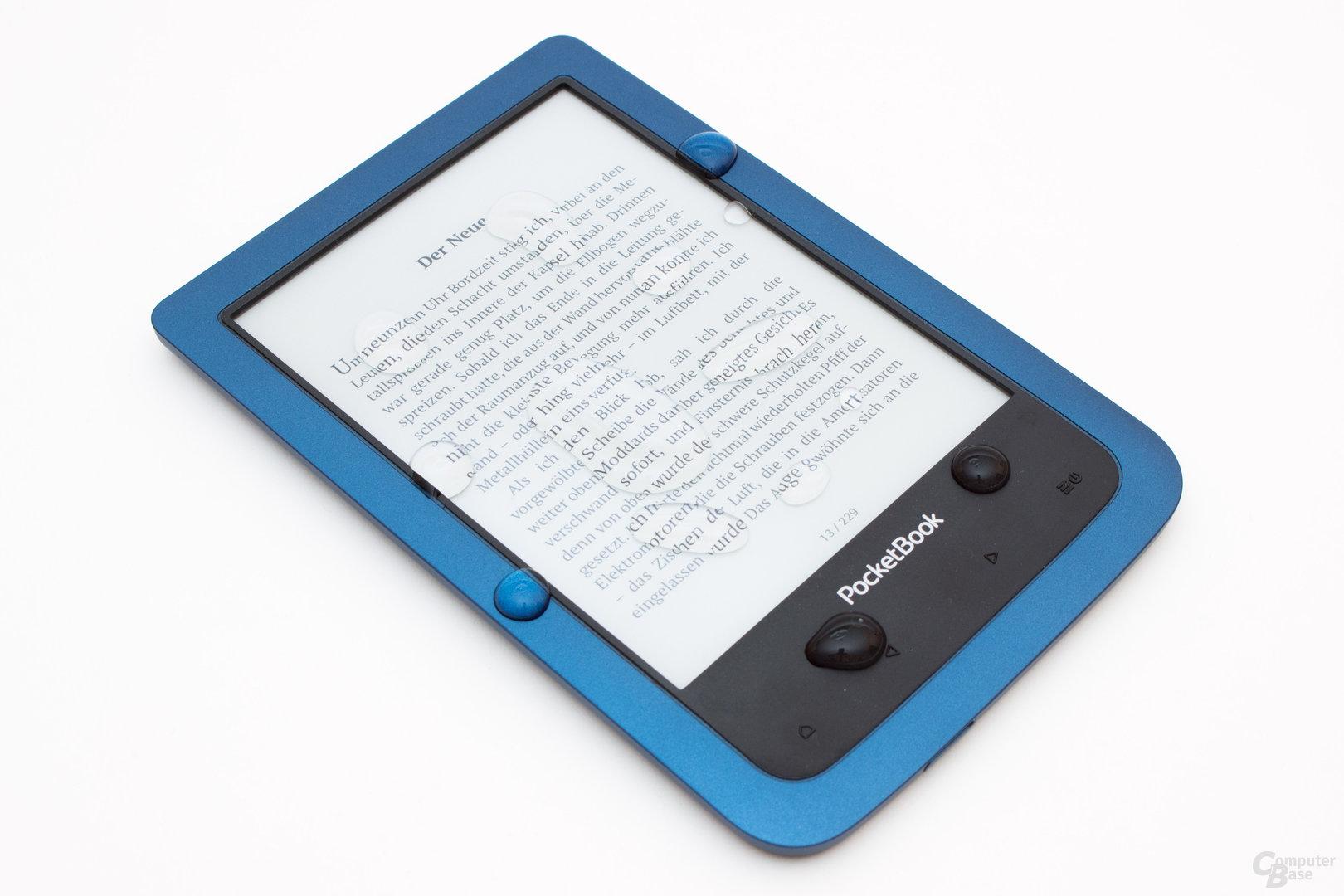 PocketBook Aqua 2 – Wasserschutz für den kleinen Geldbeutel