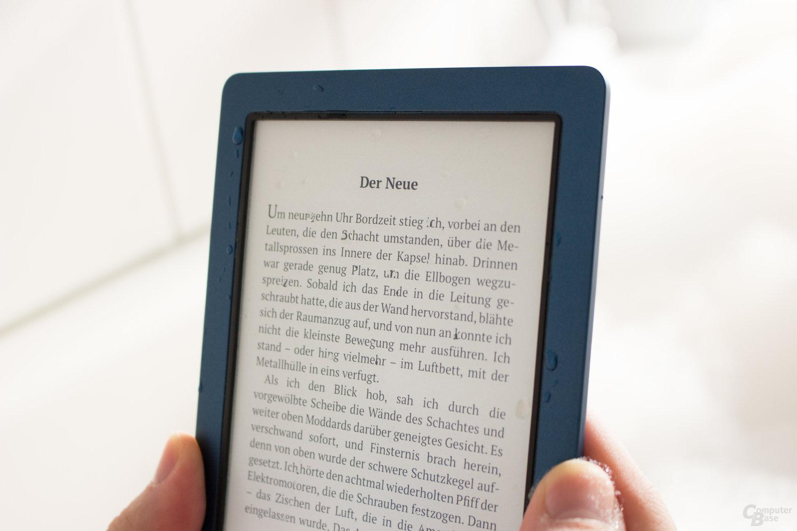 PocketBook Aqua 2 – auch für nasse Umgebungen geeignet