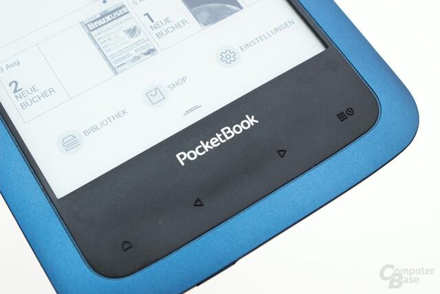 Auch der Aqua 2 verfügt über die von PocketBook bekannten frei belegbaren Tasten