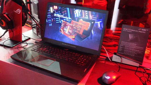 Asus ROG Strix GL702ZC: Notebook mit Ryzen und RX 580 ab 1.399 Euro bestellbar