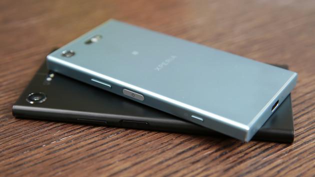 Sony Xperia XZ1 & XZ1 Compact: Groß und klein mit 3D-Scan-Kamera und Android 8.0