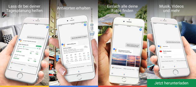 Google Assistant für iOS