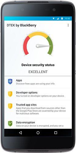 BlackBerry DTEK-App