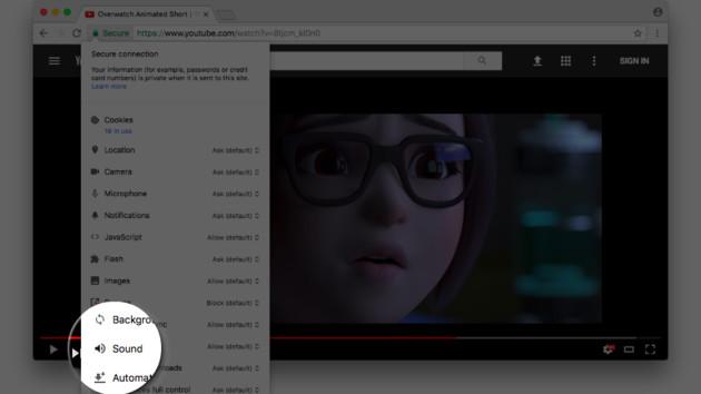 Google Chrome: Webseiten im Canary-Build stummschalten