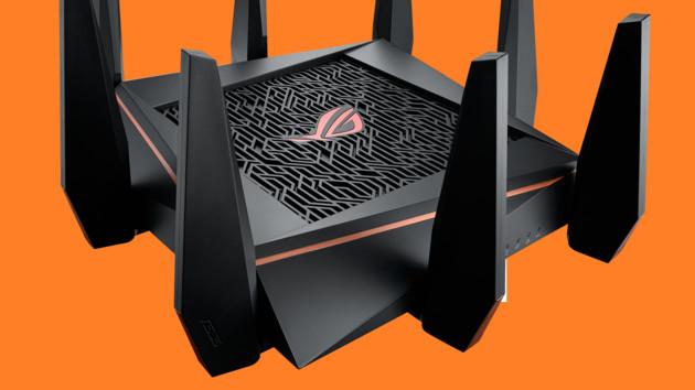 Asus ROG Rapture GT-AC5300: WLAN-ac-Router mit Tri-Band und 8 × LAN kostet 409Euro