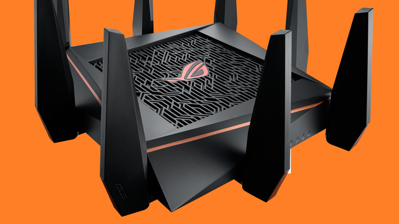 asus rog rapture gt ac5300 wlan ac router mit tri band. Black Bedroom Furniture Sets. Home Design Ideas