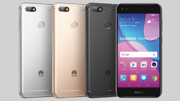 Huawei Y6 Pro 2017: Metallgehäuse, Fingerleser und Dual-SIM für 199 Euro