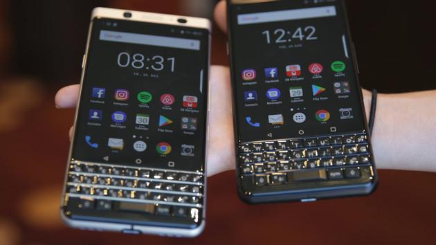 KeyOne Black Edition: BlackBerry schwärzt sein Tastatur-Smartphone