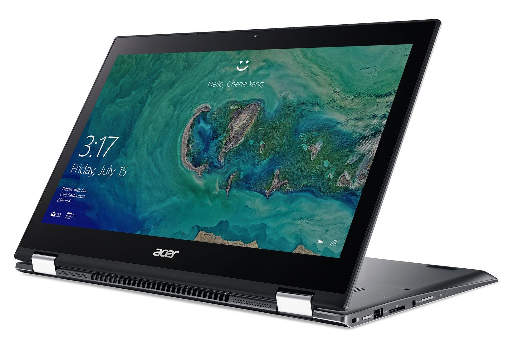 Das neue Acer Spin 5 (2017) mit 15,6 Zoll