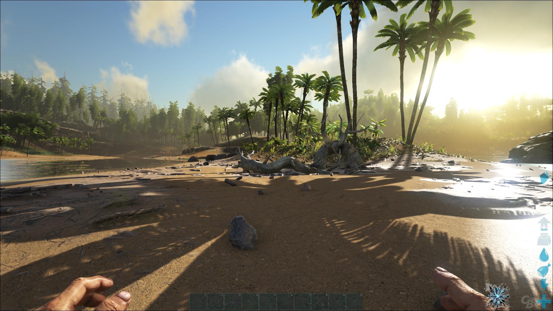ARK: Survival Evolved – Hoch-Preset bei 100 % Auflösung