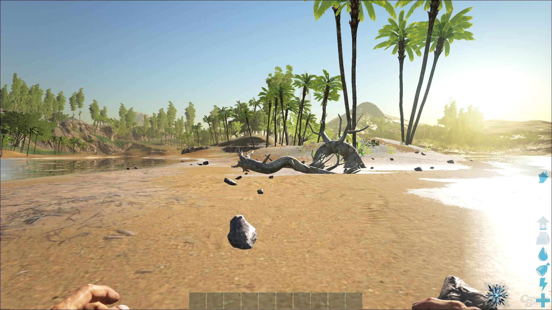 ARK: Survival Evolved – Niedrig-Preset bei 100 % Auflösung