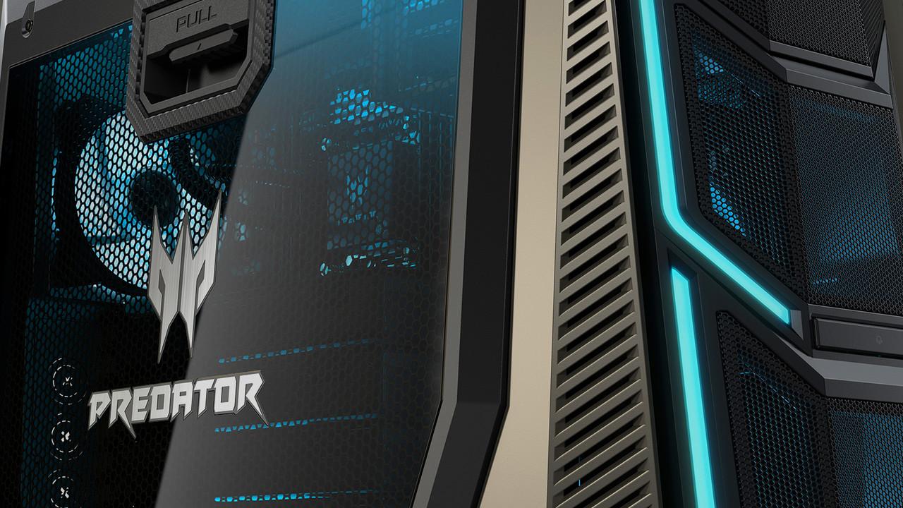 Acer Predator Orion 9000: 8K-Gaming mit vier RXVega oder 1080 Ti und Core i9